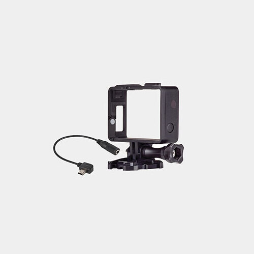 GoPro Frame and Mic Adapter