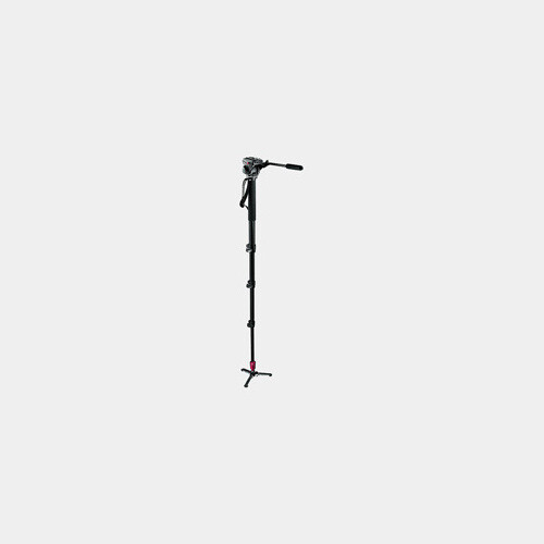 Manfrotto Monopod + Fluid Video Head